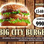 Big city burger